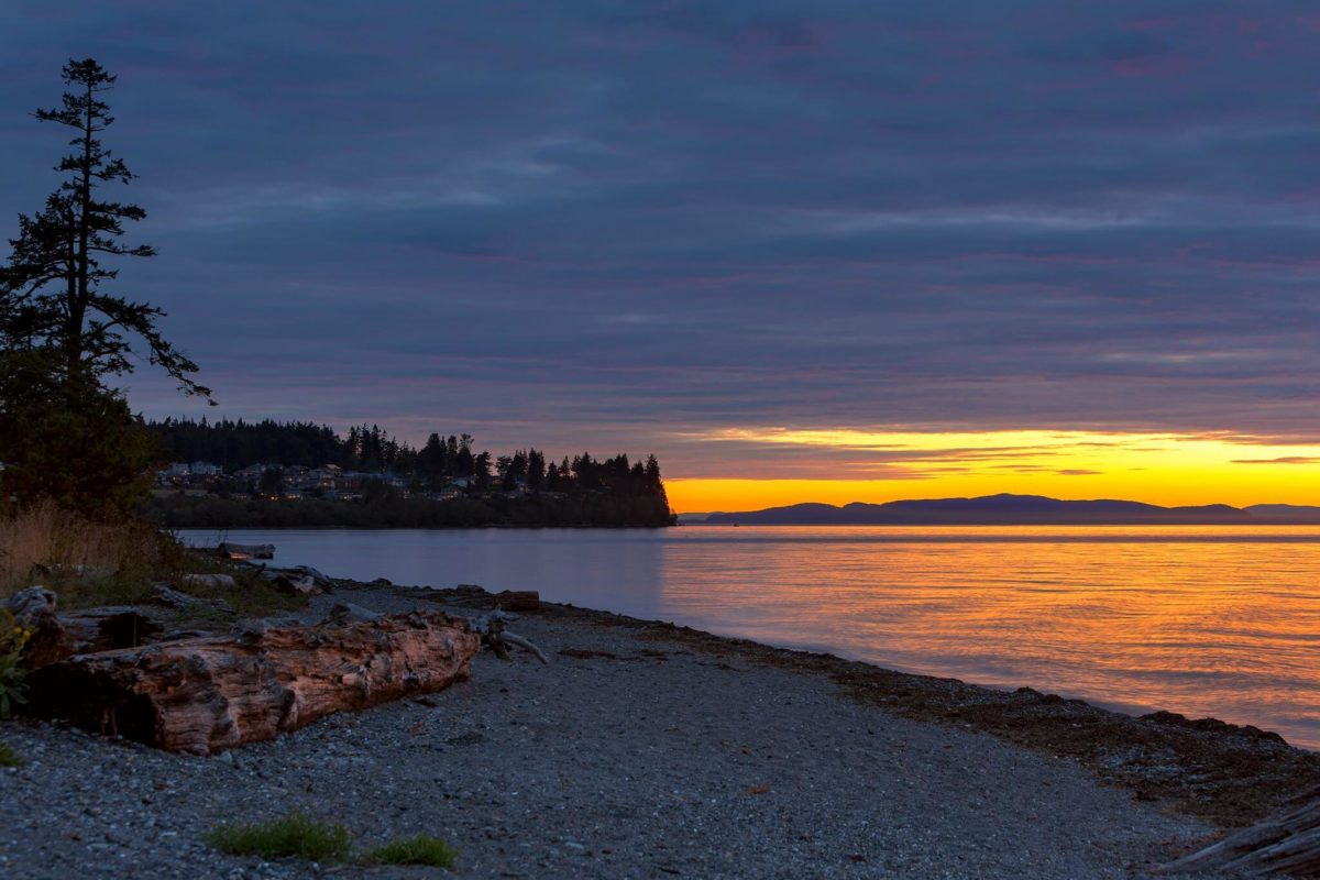Sunset at Birch Bay State Park Blaine