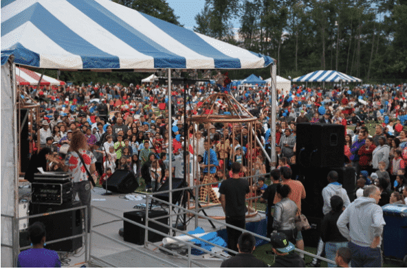 Federal Way's Red, White, and Blues Festival, Federal Way Washington