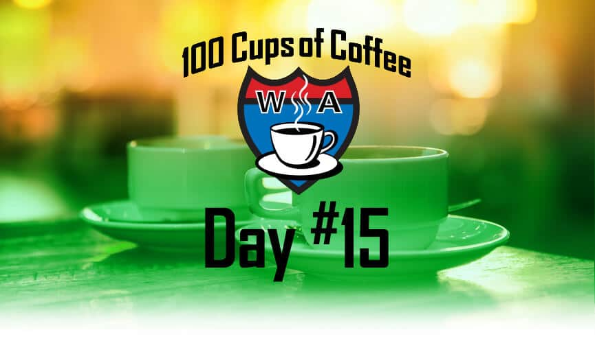 Day 15 of the 100 Cups of Coffee in 100 Days Project