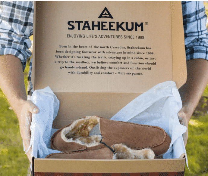 Staheekum Moccasins Explore Washington State 2020 Gift Guide