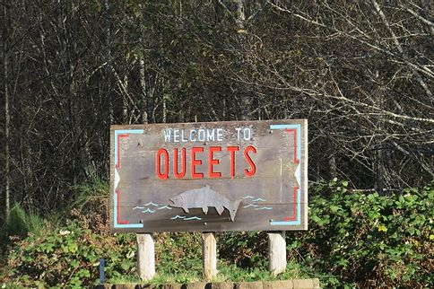 A Detour to Westport Queets sign