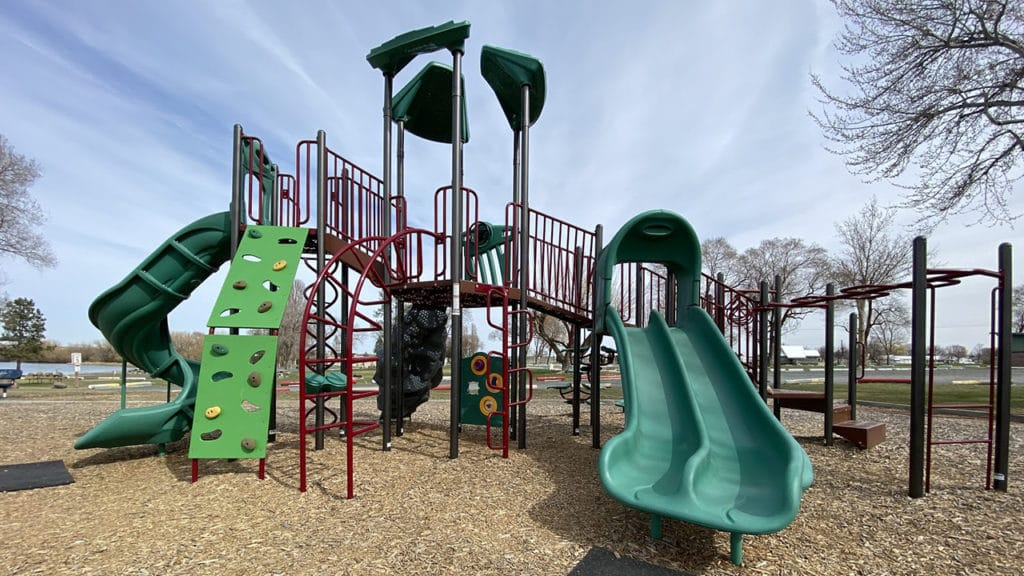 Coulee City Community Park playground
